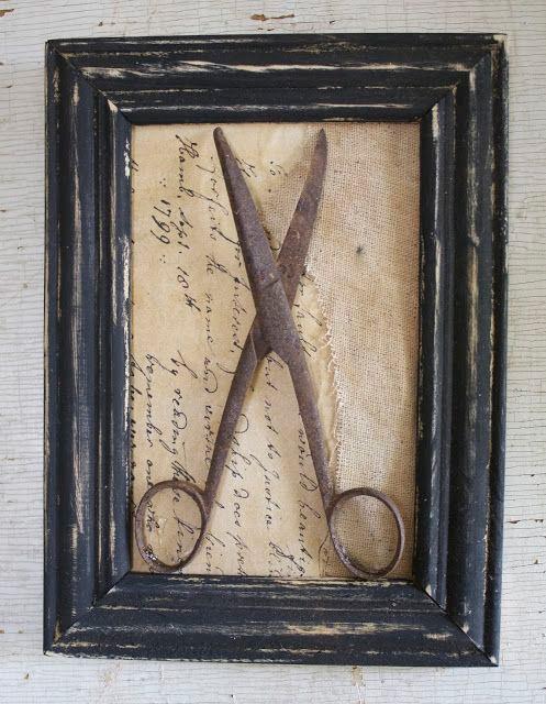 Inspiração - decoração com tesoura
