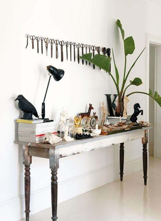 Inspiração: decoração de tesoura