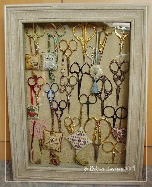 Inspiração: decoração com tesoura