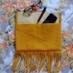 Como fazer bolsa de franjas