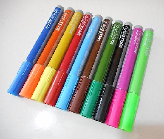 Sapatilha customizada com caneta permanente - Maxx Grafoo