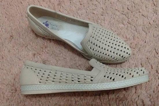 fc69a0e4b7 Como customizar sapatos com renda