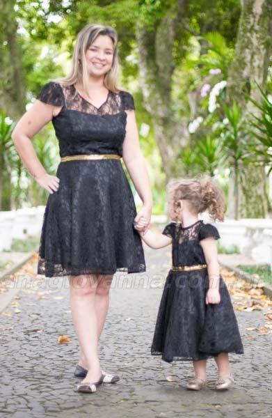 Inspiração: vestidos de mãe e filha