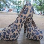 Customizar com capa para sapato
