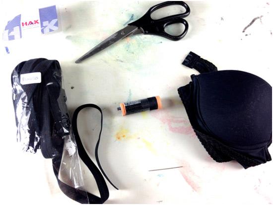 Como fazer strappy bra - sutiã com tiras
