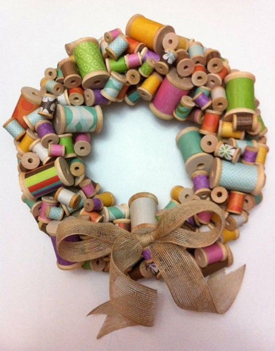31 lindas guirlandas natalinas diferentes, criativas e originais