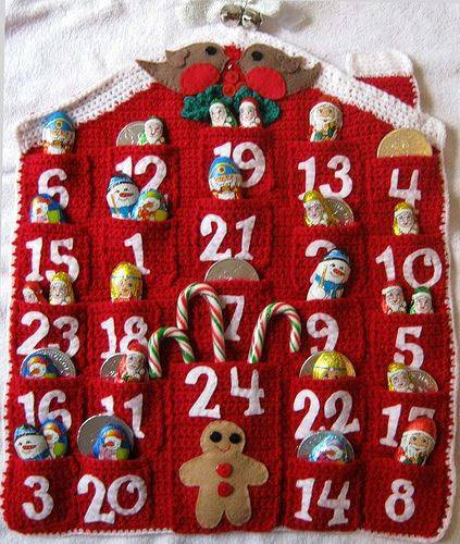 Inspiração: calendários natalinos