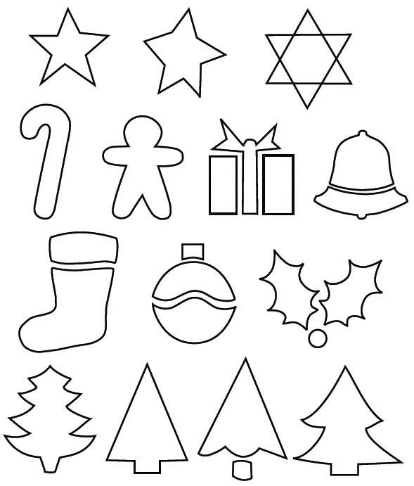 Camping Christmas Tree Ornaments