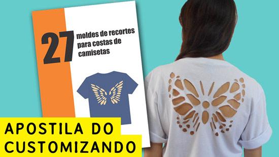 Apostila do Customizando - Customização de camisetas