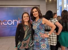 Blogueira que faz capa para sapato no programa Encontro da Fátima Bernardes