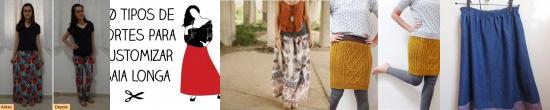 Customização de saias