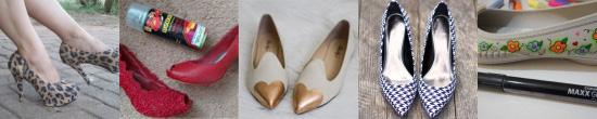 Customização de sapatos