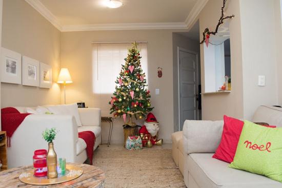 Decoração de natal das casas das blogueiras