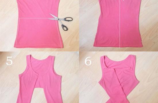 customizando-camiseta-top-croped-trancada