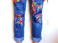 6 ideias para customizar calça jeans