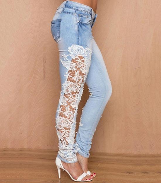 Ideias de calça jeans customizada