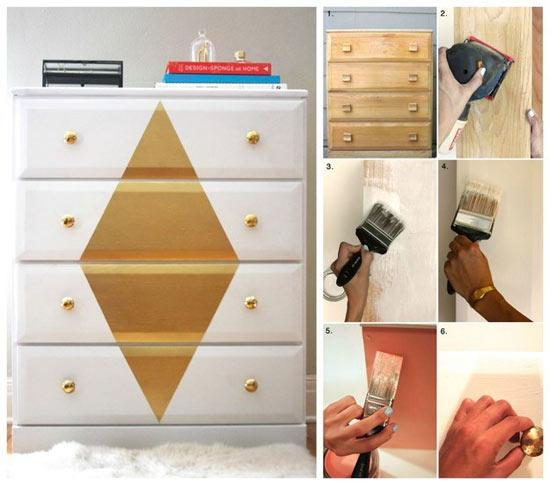 O que fazer com móveis velhos