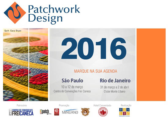 16ª Edição da Patchwork Design